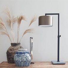 Luksa Tafellamp Nienke op hardstenen voet