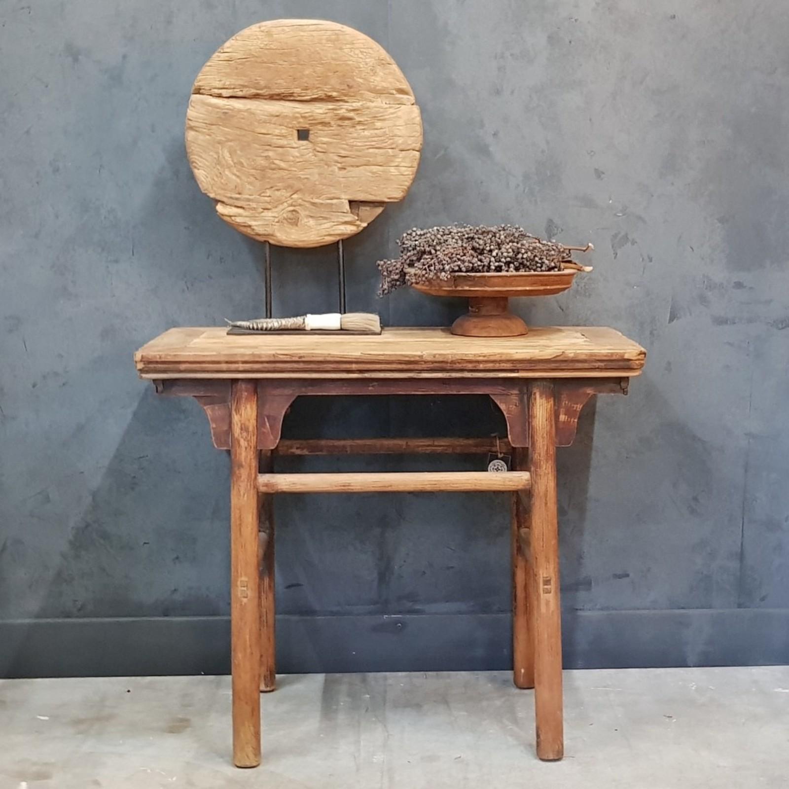 Luksa Oud houten console tafel