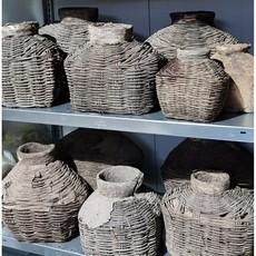 Luksa Unieke antieke leemmand