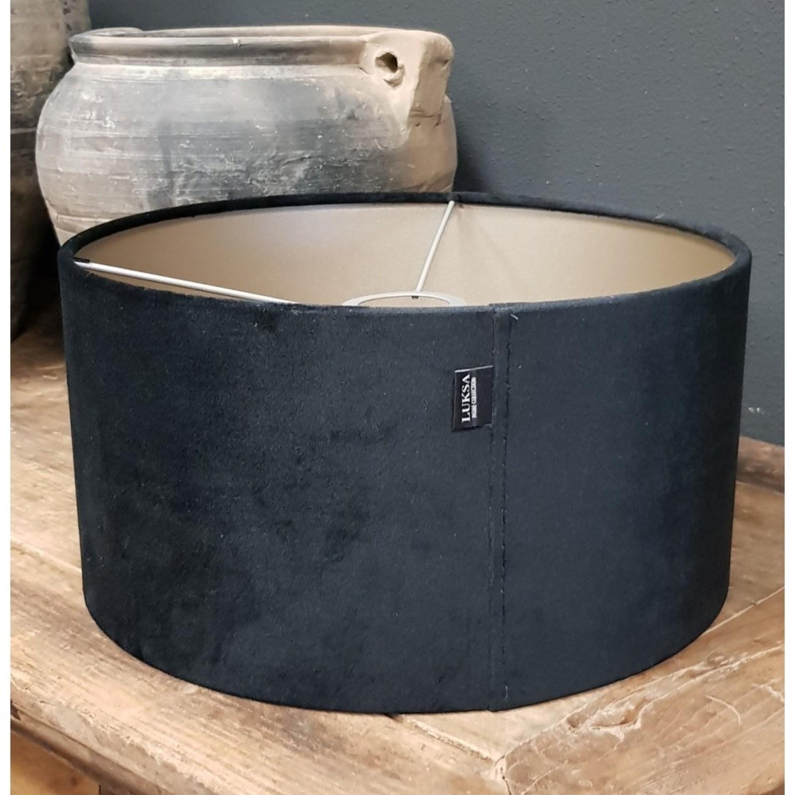 Luksa Kap cilinder Velvet zwart CAS66