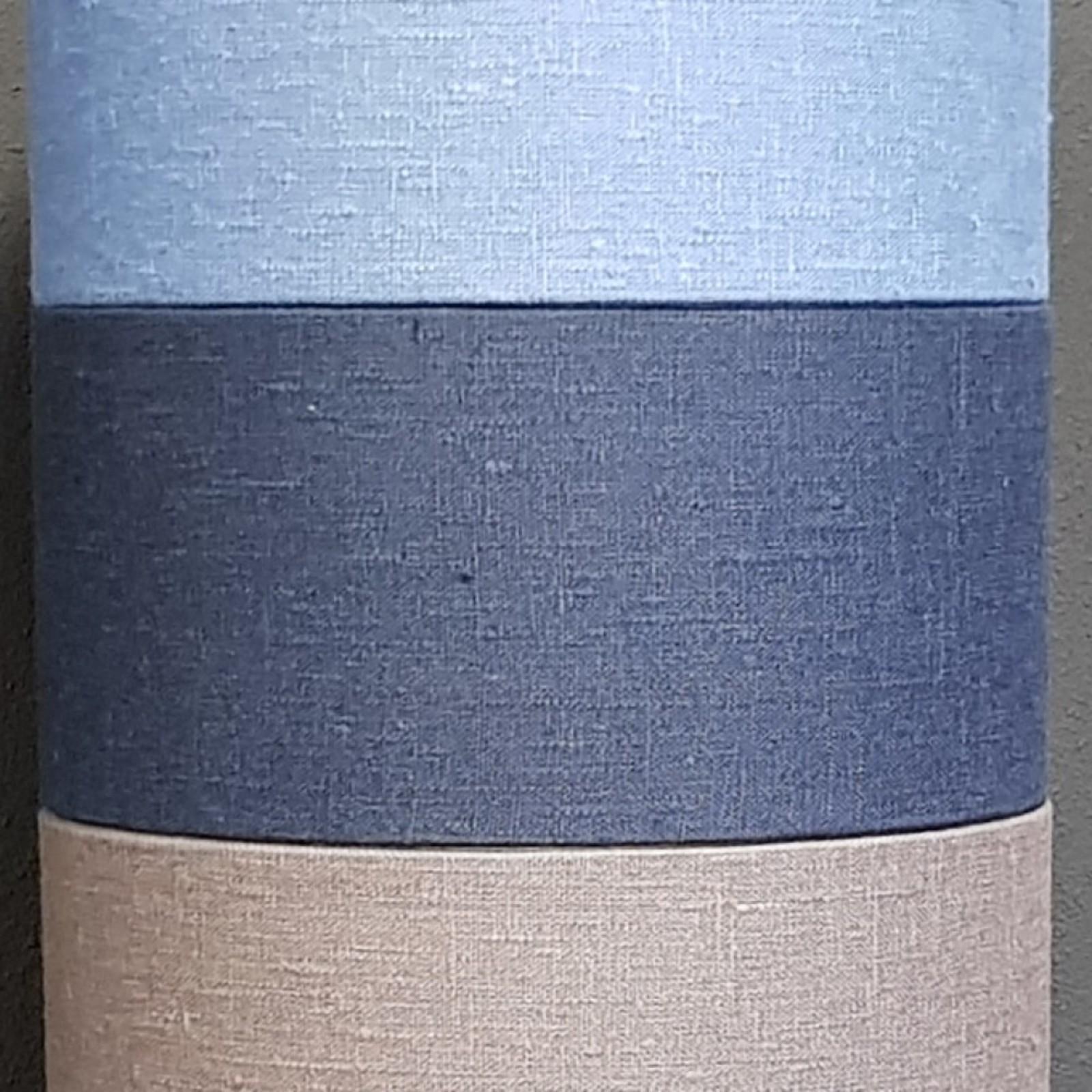 Luksa Kap cilinder Linnen D. blauw LIN14