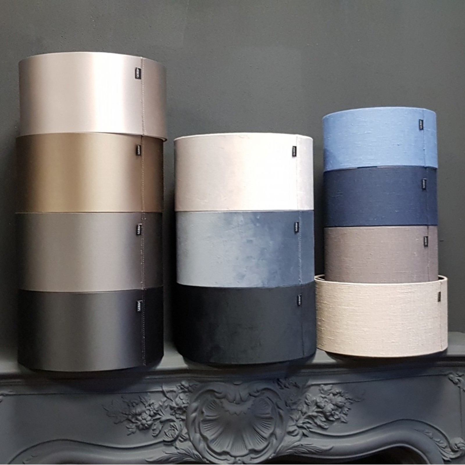 Luksa Kap cilinder zwart MON20