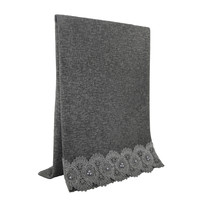 SCARF LACE & PEARL GREY