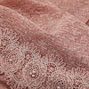 BEAUX JOURS SCARF LACE & PEARL PEACH
