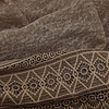 BEAUX JOURS SCARF LACE TAUPE