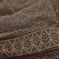 SCARF LACE TAUPE