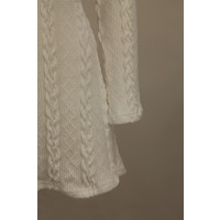 KNITTED DRESS WHITE