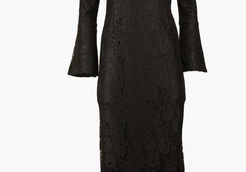 BEAUX JOURS AVENIDA  LACE DRESS BLACK