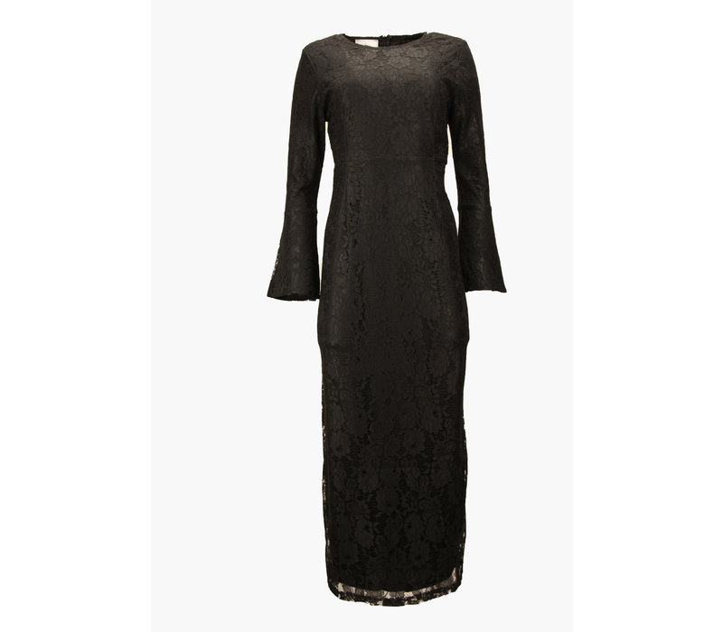 AVENIDA  LACE DRESS BLACK