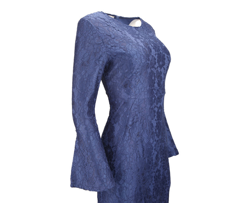 AVENIDA  LACE DRESS NAVY