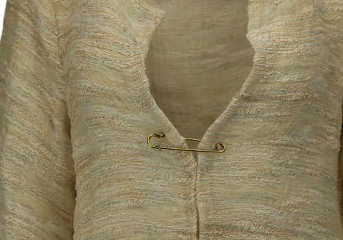 BEAUX JOURS UNLINED COAT CAMOUFLAGE PEARL IVORY