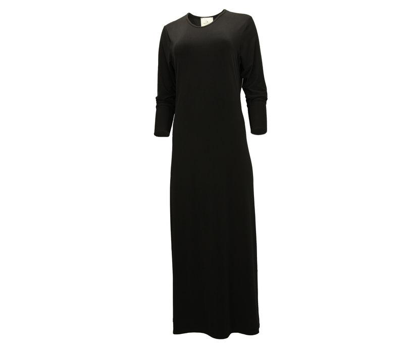 JERSEY MAXI DRESS BLACK