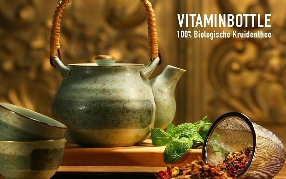 kinder thee biologisch vitaminbottle