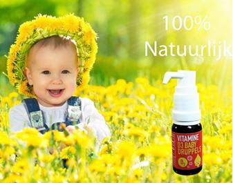 vitamine d3 baby en kinder 400iu druppels vitaminbottle