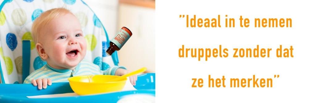 Multivitamine druppels voor kinderen