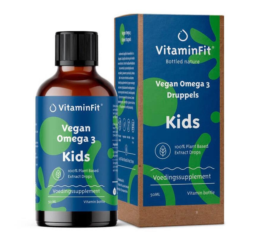 vegan omega 3 druppels kids