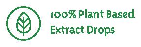 100% plantaardige druppels