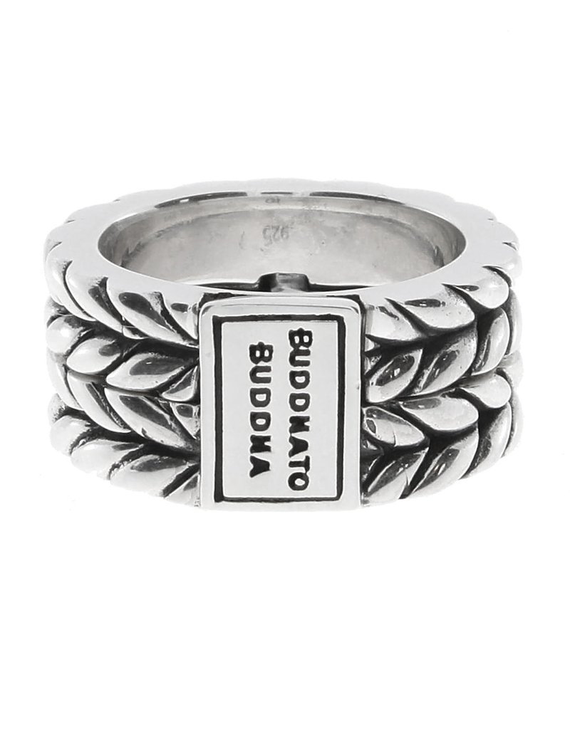 Buddha to Buddha 925 Sterling Zilveren 112  Love Message Ring 16