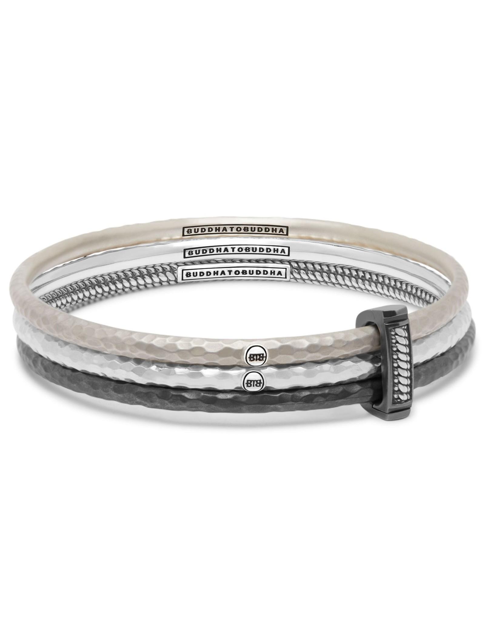 Buddha to Buddha 925 Sterling Zilveren 317 S Dunia Satu Bracelet Set  15-17cm