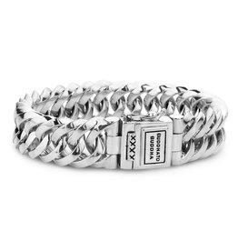 Buddha to Buddha 925 Sterling Zilveren 090 E Chain Small Armband 19cm