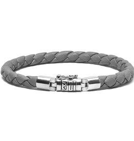 Buddha to Buddha J545GA E Ben Xs Round Leather Graphite Armband 19cm