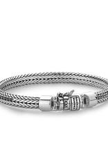 Buddha to Buddha 925 Sterling Zilveren 150 E Ellen Armband 19cm