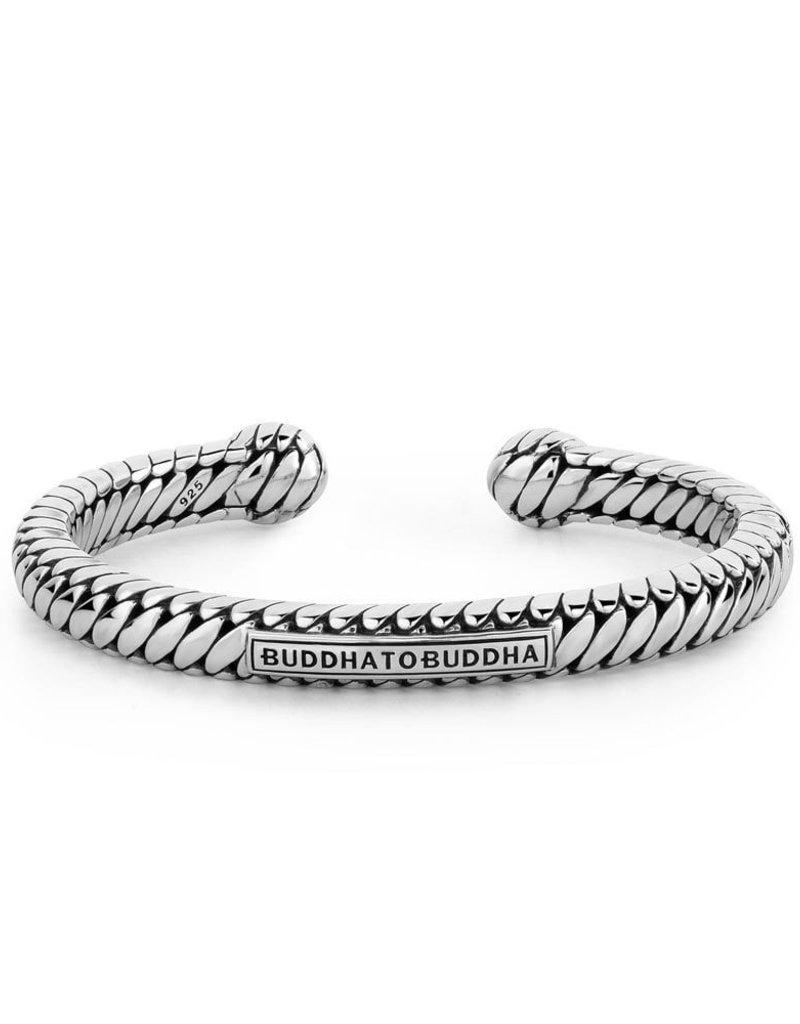 Buddha to Buddha 925 Sterling Zilveren 227 E Ben Torque Armband