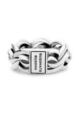 Buddha to Buddha 925 Sterling Zilveren Francis Ring 485 17