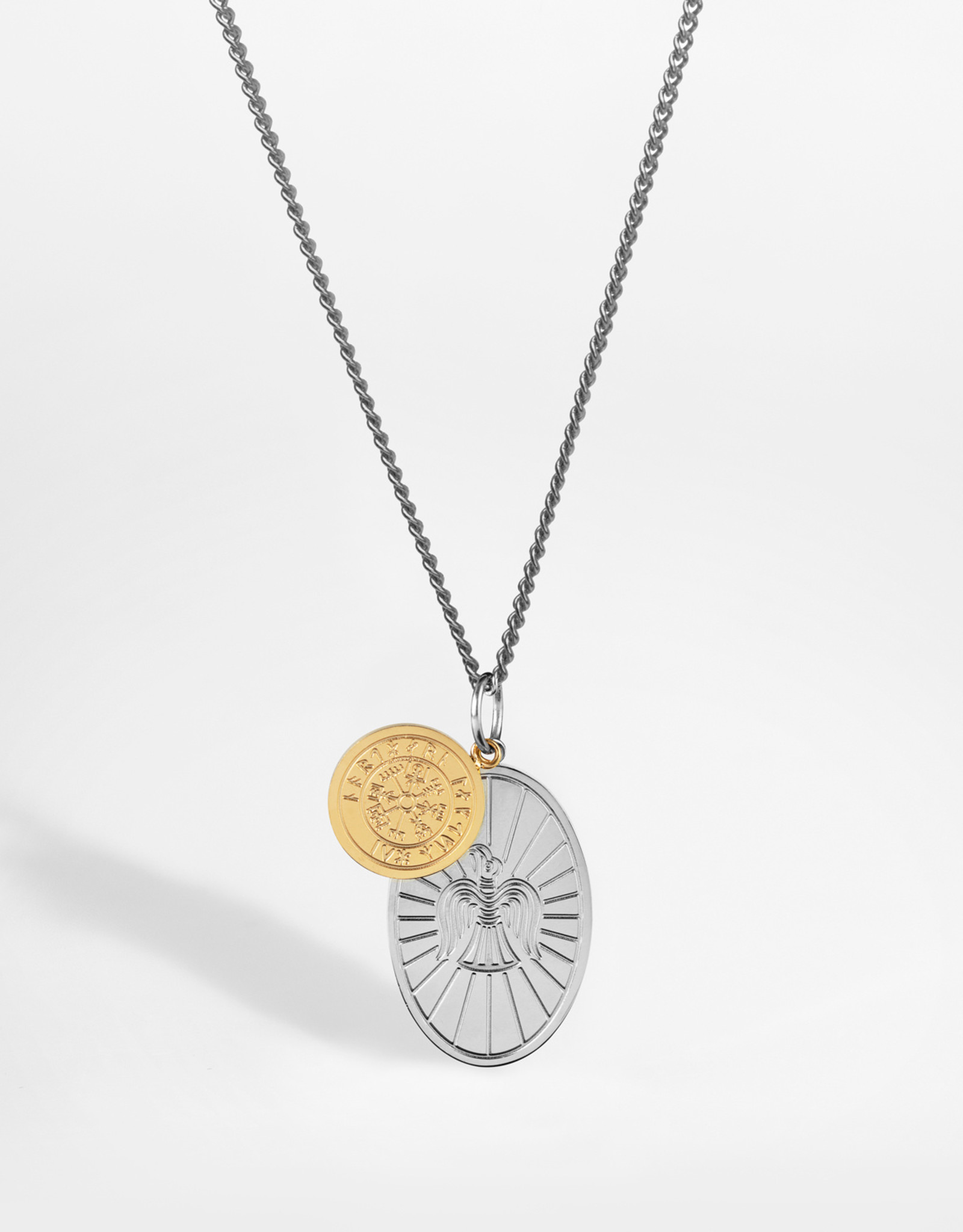 Northern Legacy nl muninn necklace silver\gold