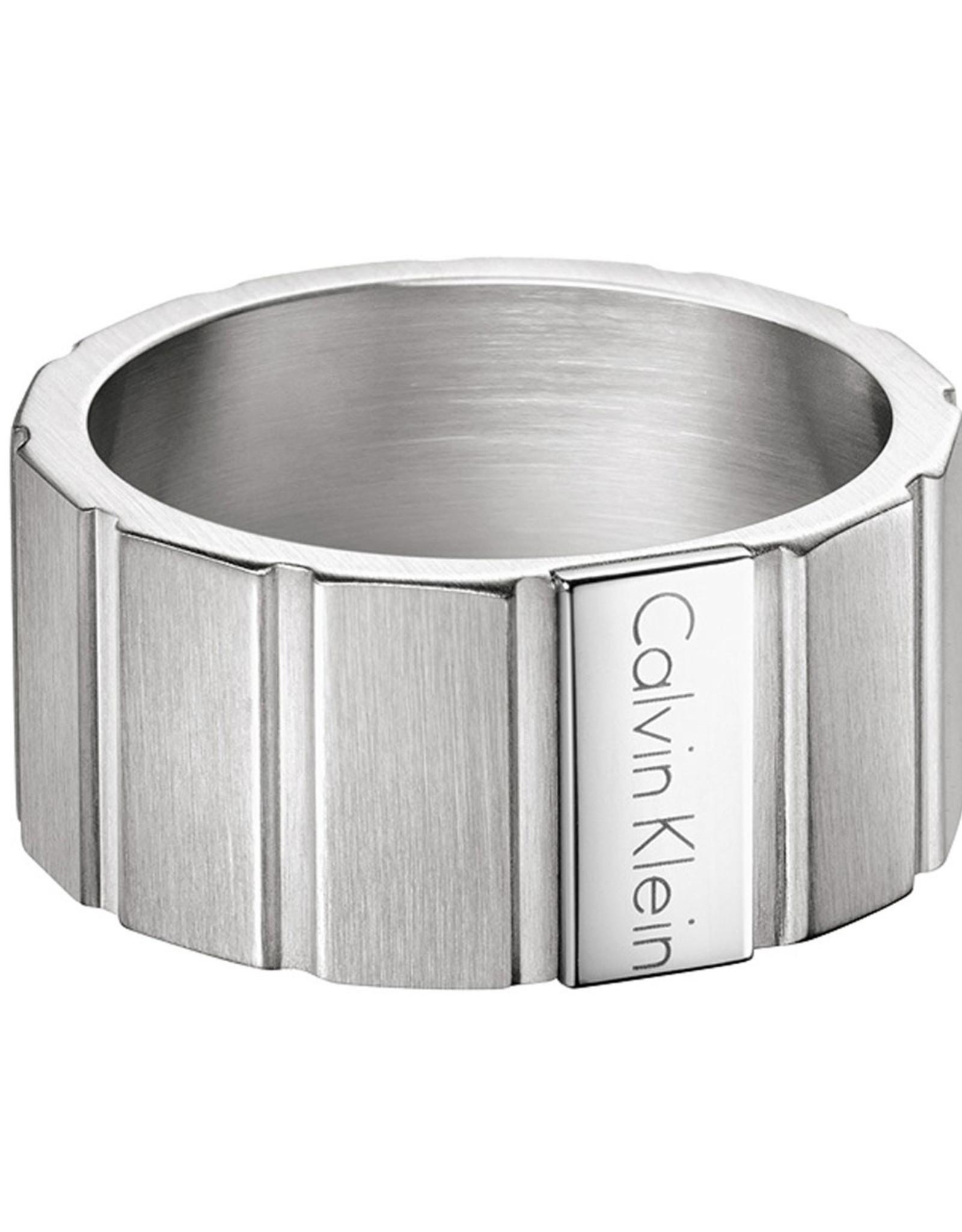 Calvin Klein Mens Ring, Silver