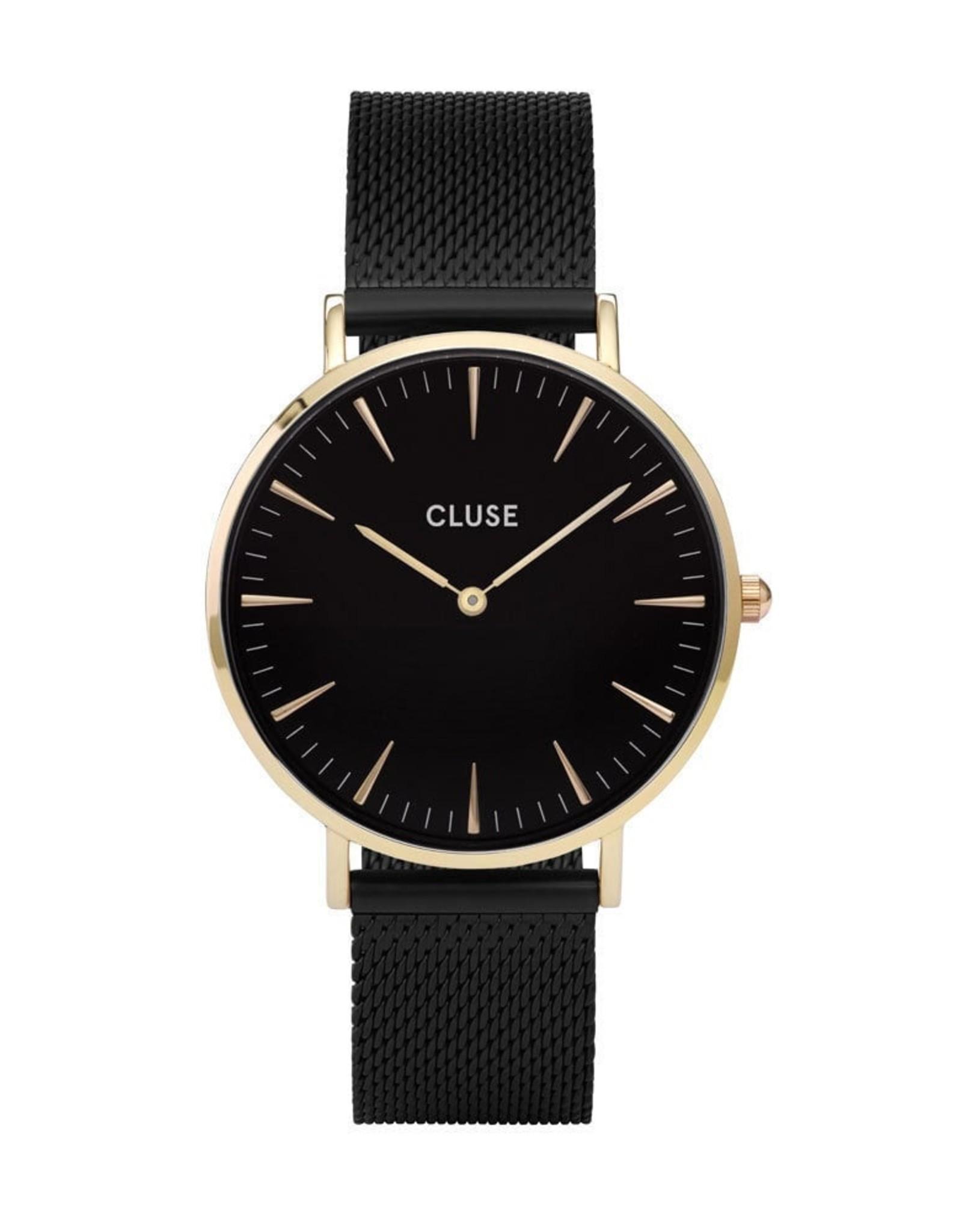 Cluse Boho Chic Mesh Black, Gold Colour