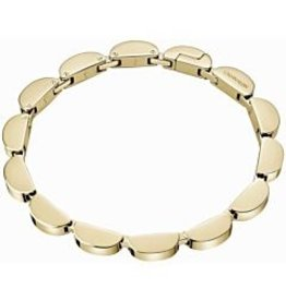 Calvin Klein Wavey Bracelet, Goldplated