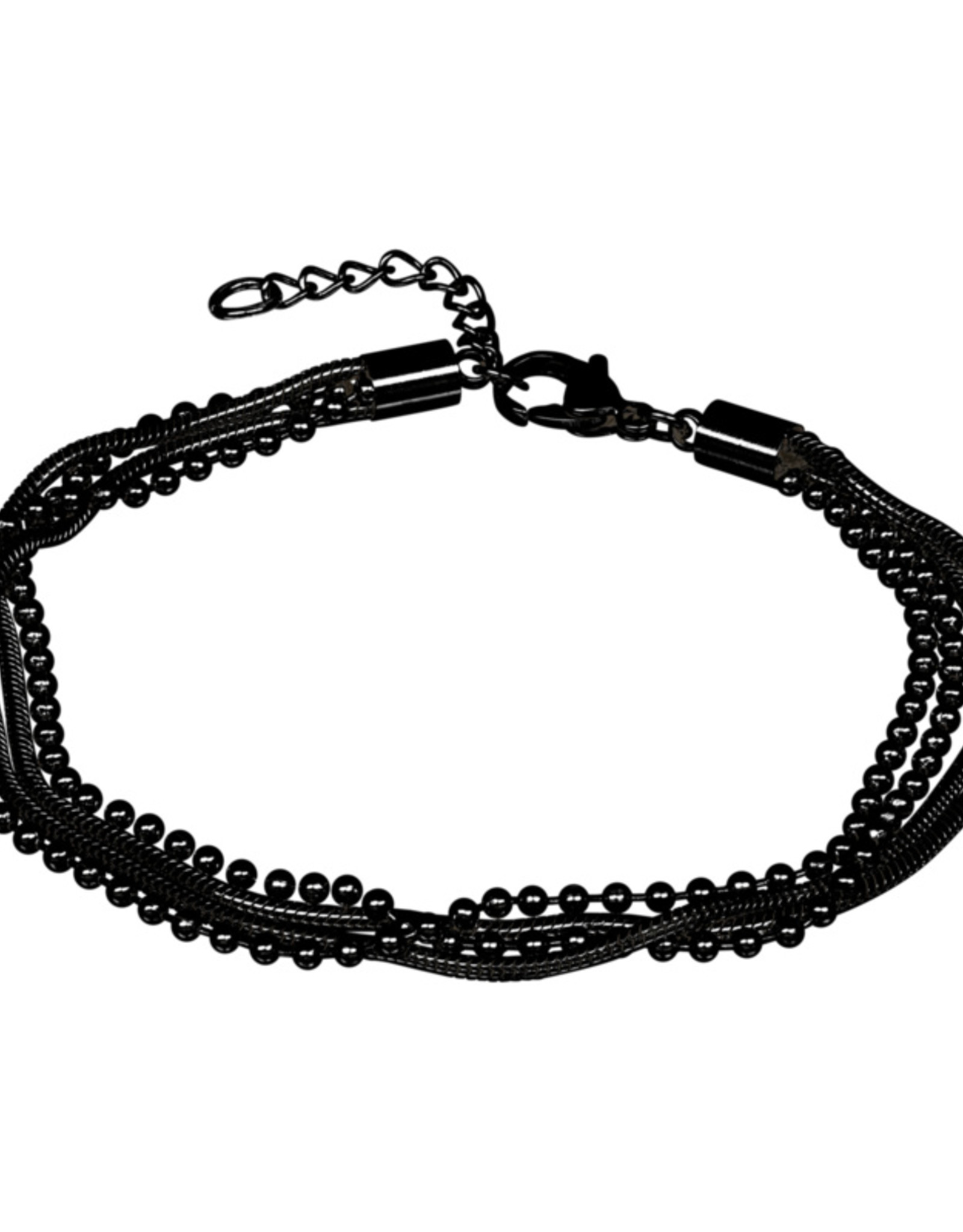 snake ball slim 4 pcs 23+4 black