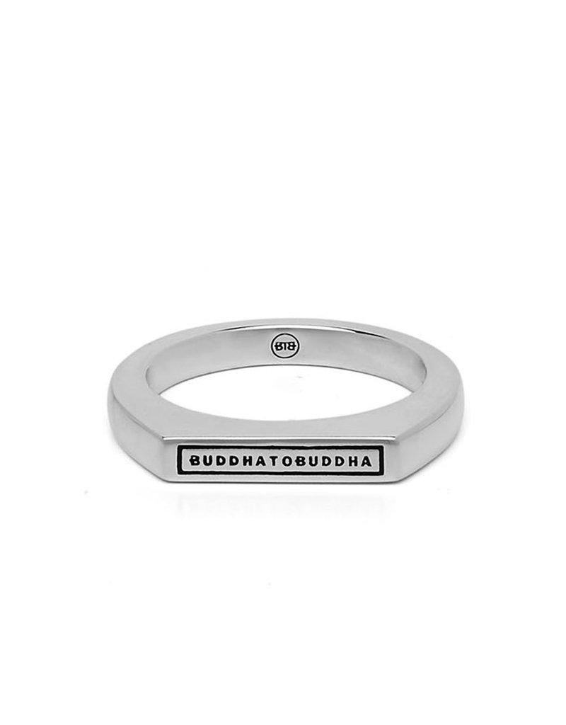 Buddha to Buddha 925 Sterling Zilveren 055 18 Tangguh Signet Logo Ring