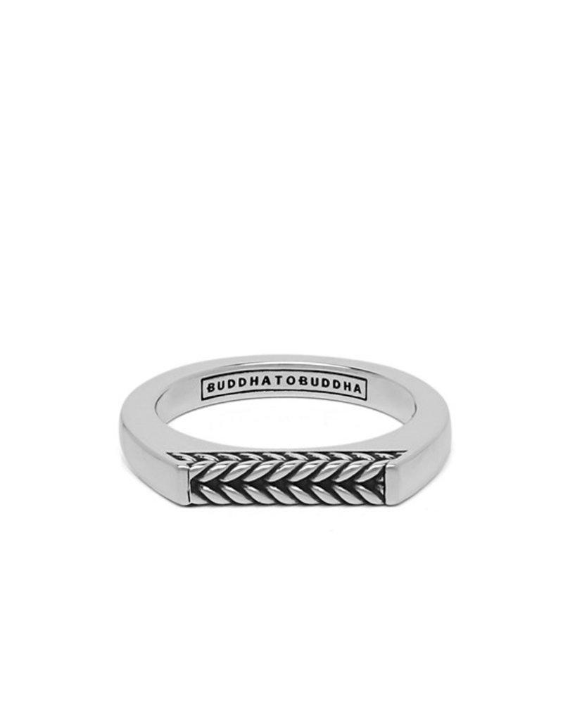 Buddha to Buddha 925 Sterling Zilveren 053 19 Tangguh Signet Barbara Ring