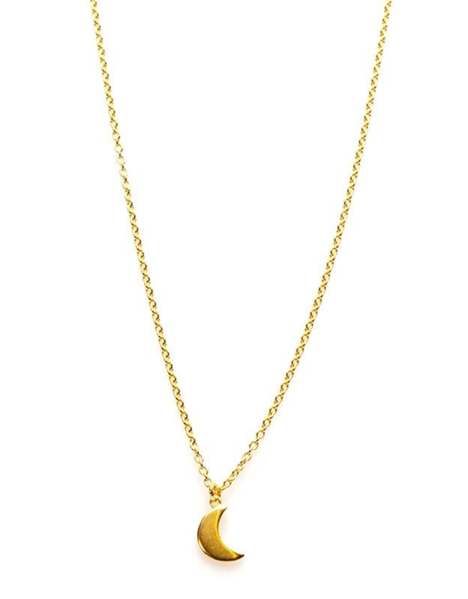 Karma Necklace Moon Goldplated