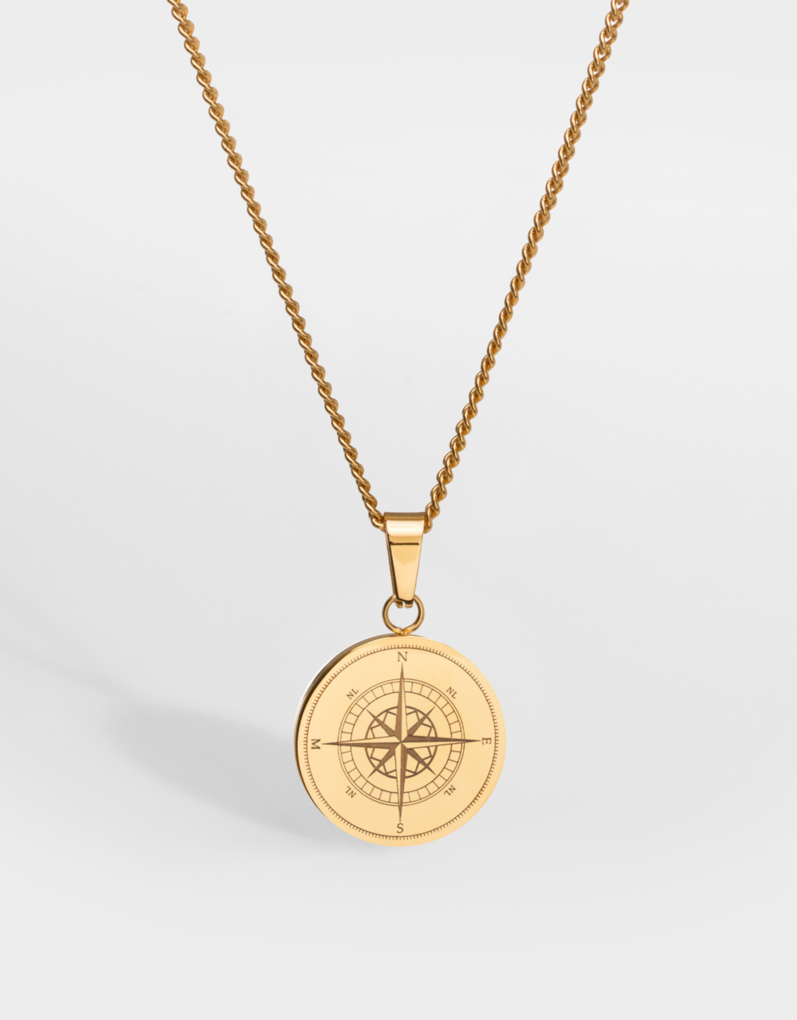 Northern Legacy nl compass pendant gold