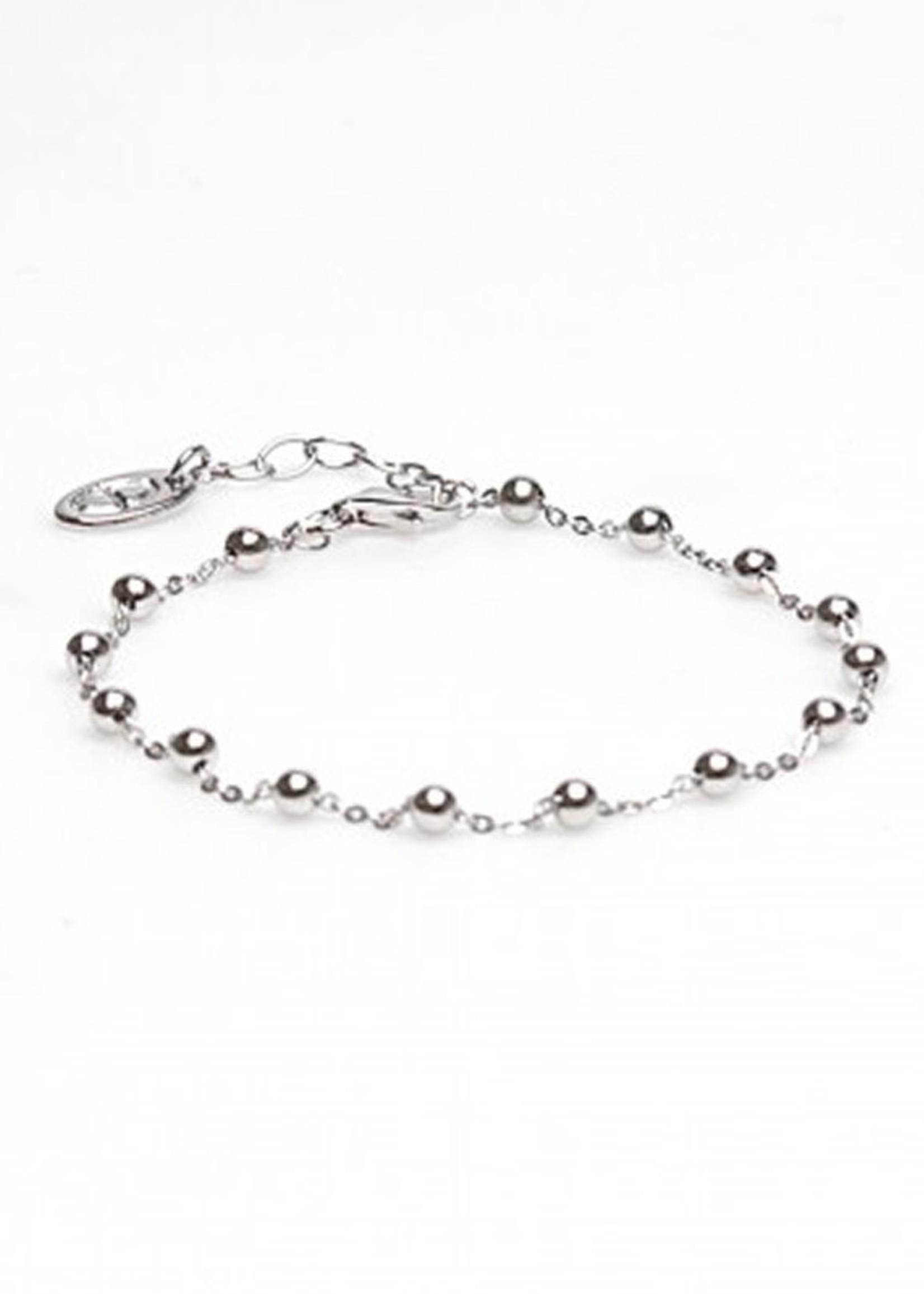 Karma Bracelet Dots Silver