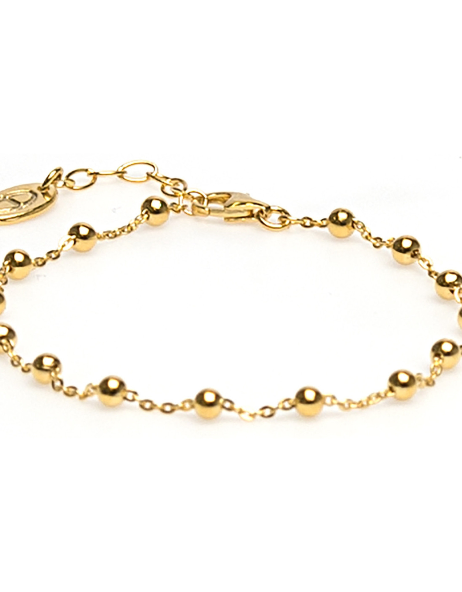 Karma Bracelet Dots Goldplated
