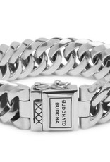 Buddha to Buddha Buddha to Buddha 925 Sterling Zilveren 090 F Chain Small Armband 21cm