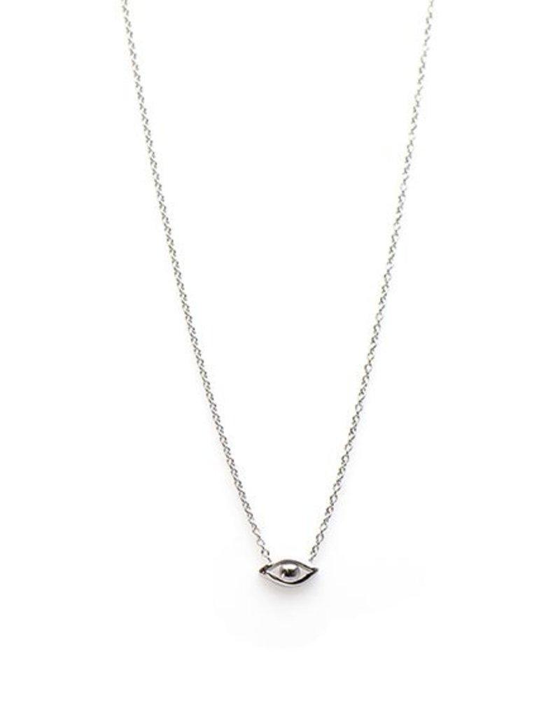 Karma Necklace eye Silver