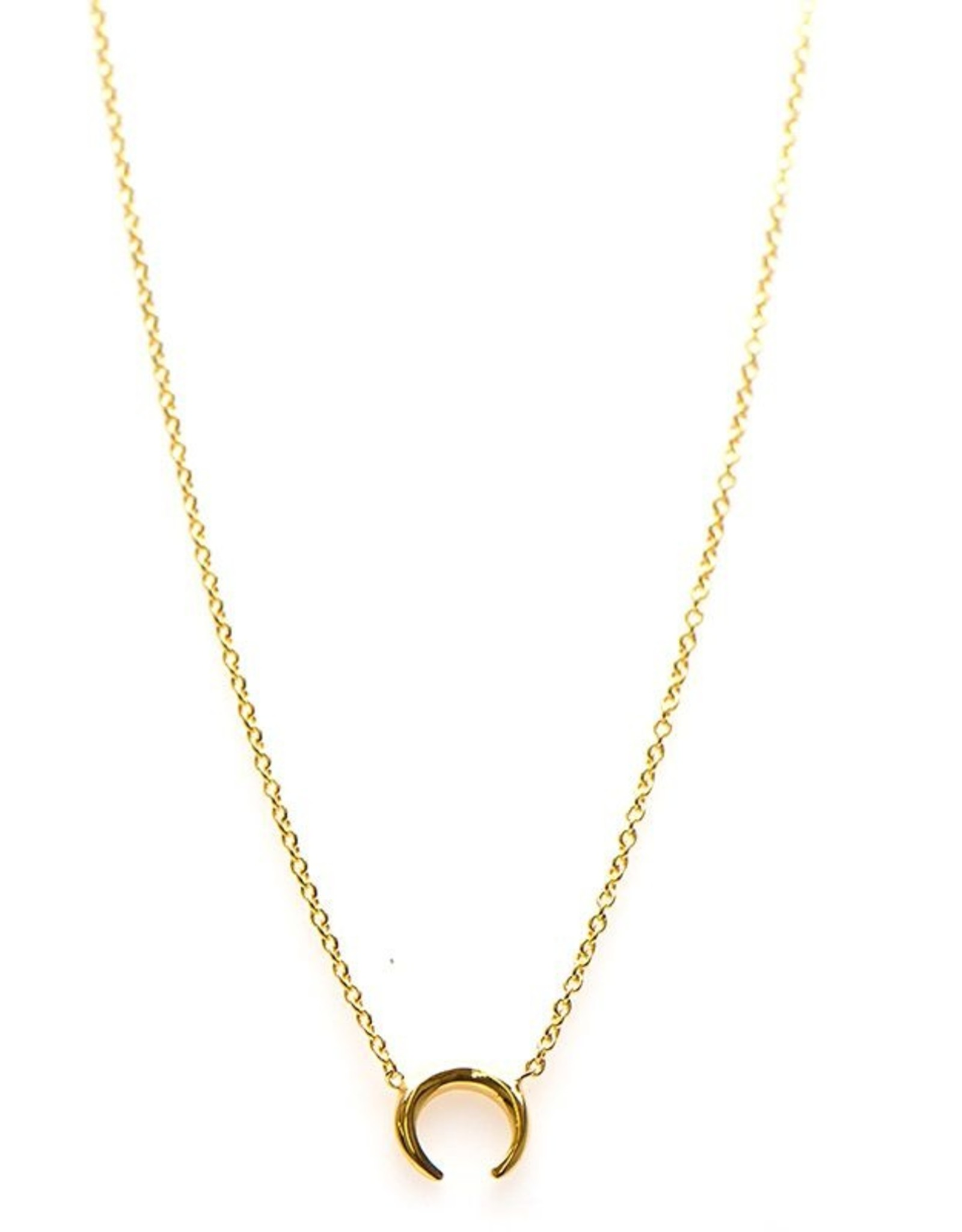 Karma Necklace Tigertooth Goldplated
