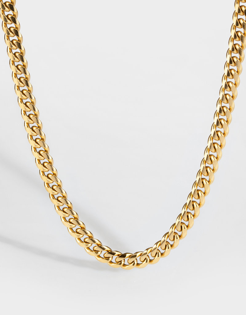 Northern Legacy NL Sequence necklace - Gold