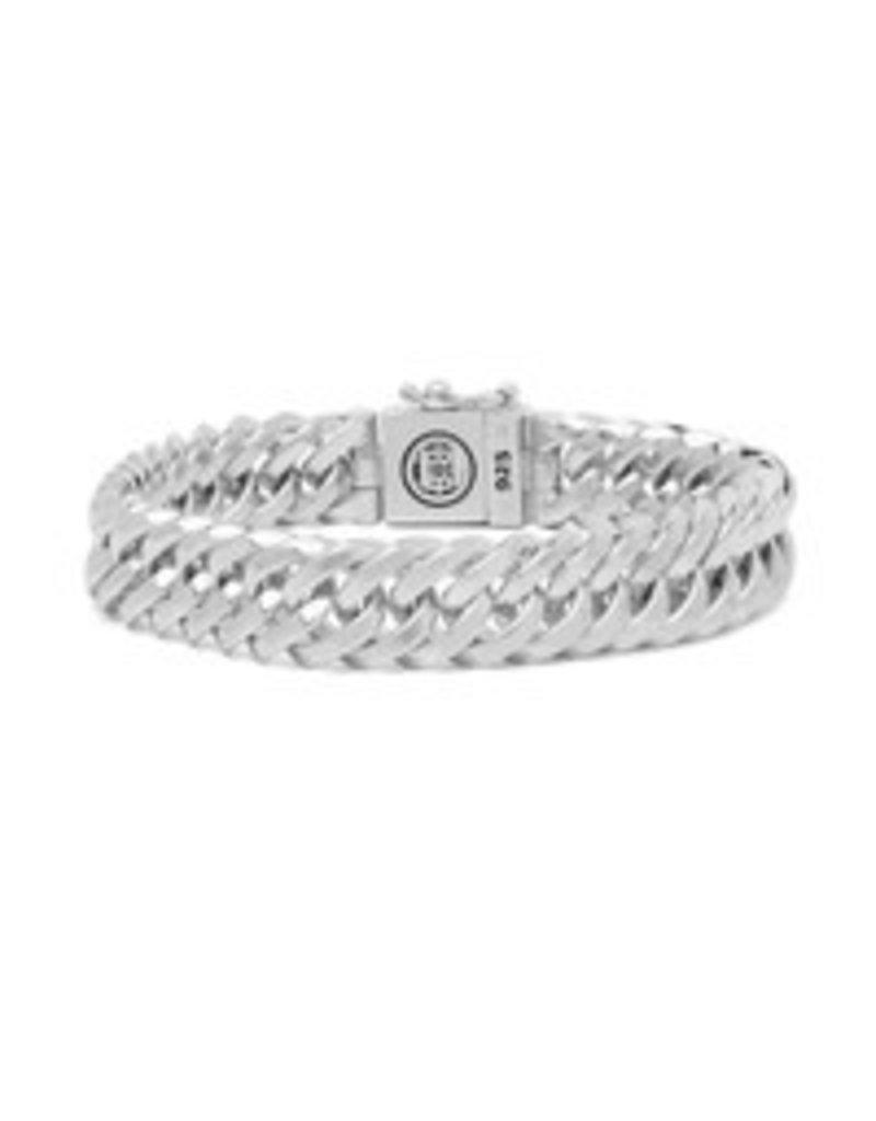 Buddha to Buddha 925 Sterling Zilveren J080 E Chain Xs Armband 19cm