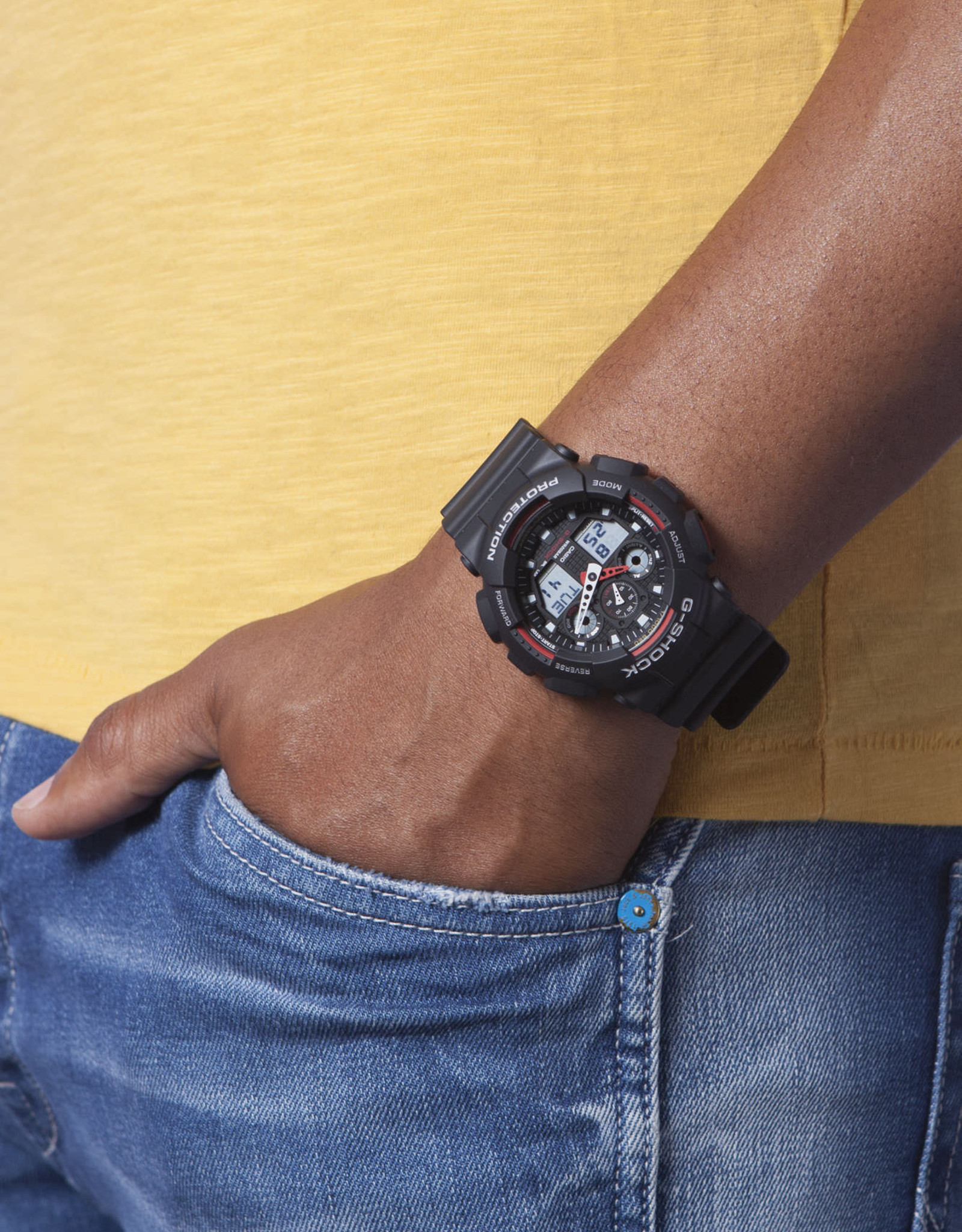 G - Shock ga-100-1a4er
