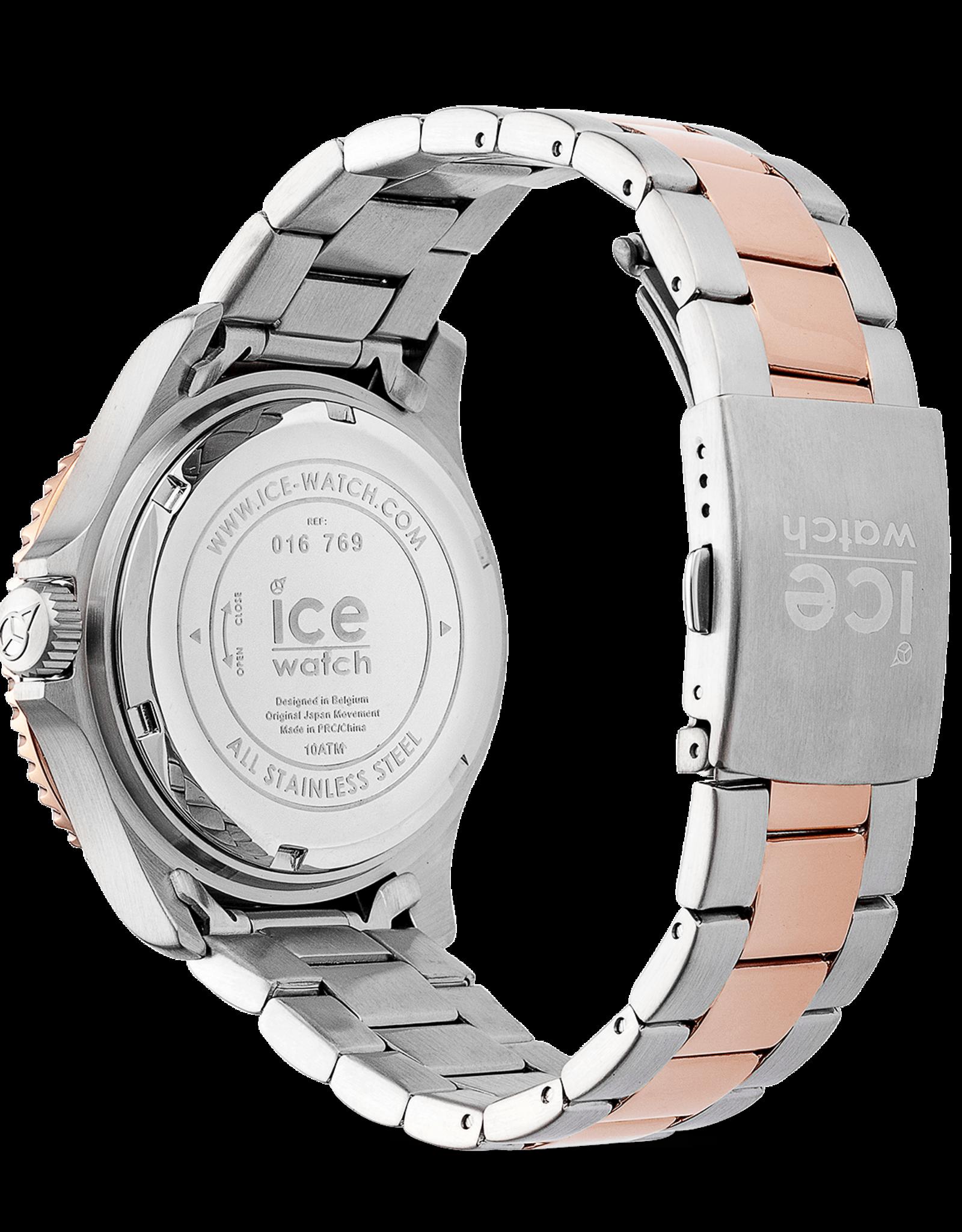 Ice Watch ice steel silver sunset rose gold medium