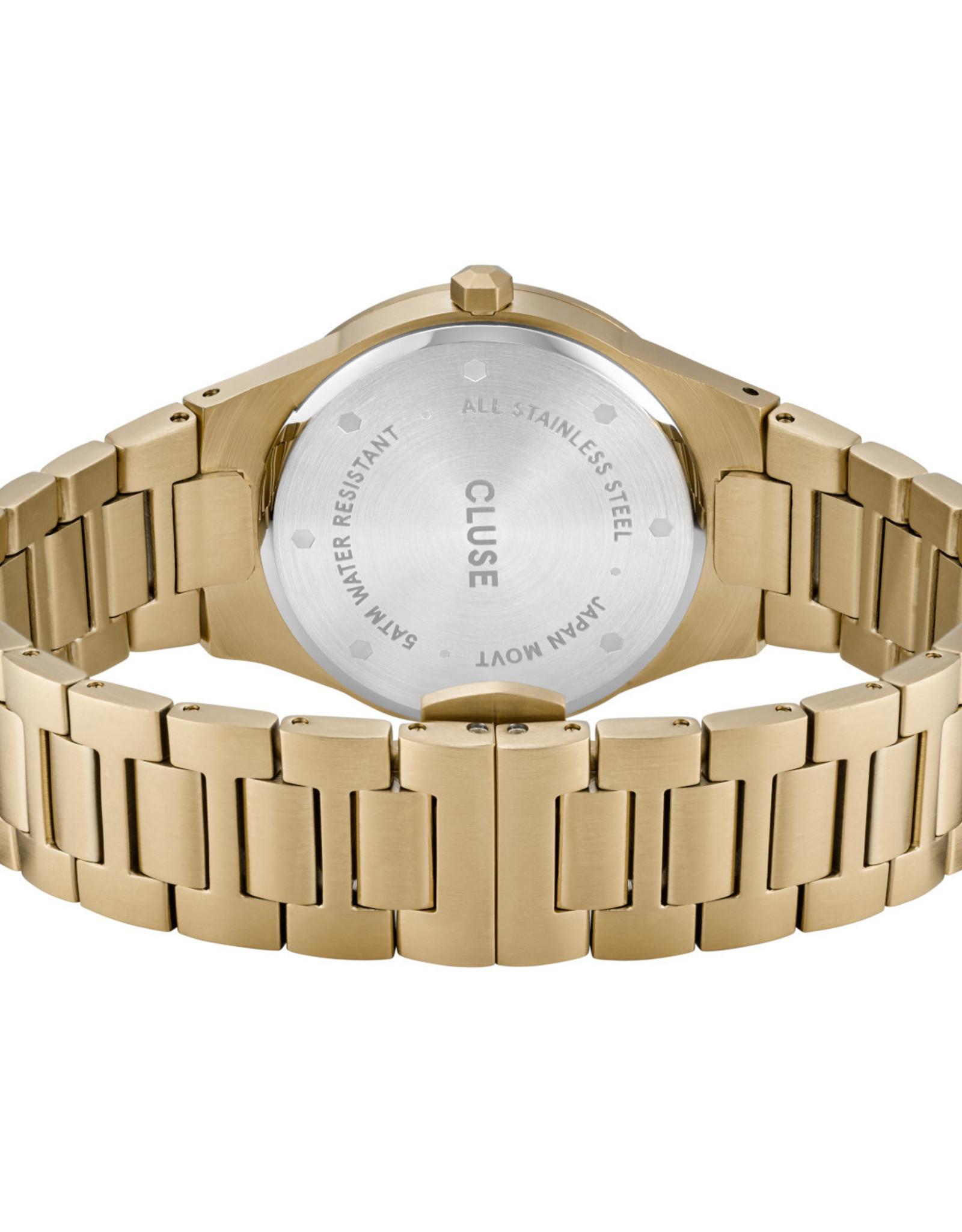 Cluse Vigoureux 33 h-link, Gold, Snow White/Gold
