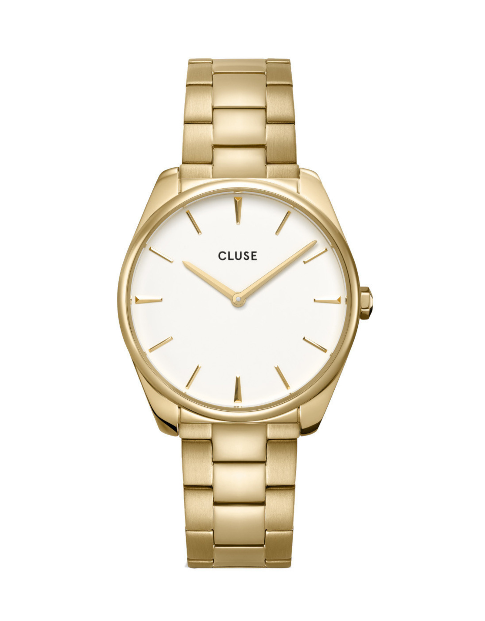 Cluse Féroce Steel White, Gold Colour