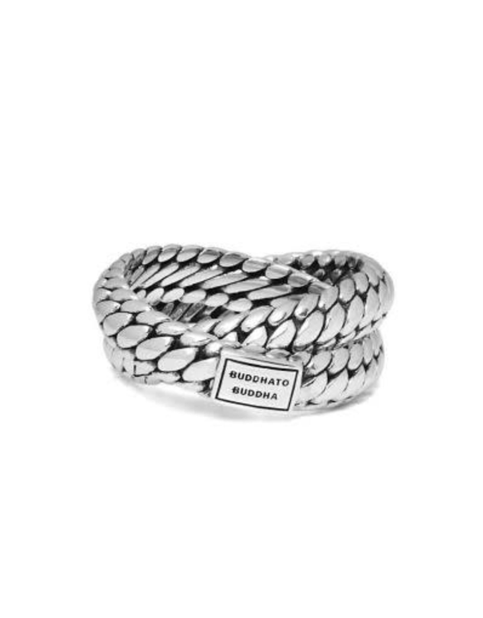 Buddha to Buddha 925 Sterling Zilveren 607 Ben Double Ring