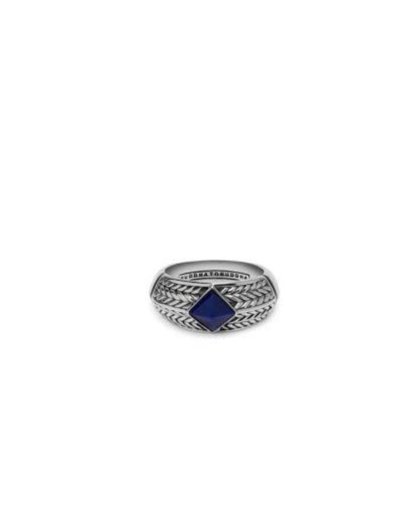 Buddha to Buddha 925 Sterling Zilveren 006bu ellen stone ring blue
